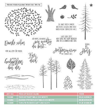 Wald der Worte Stempel